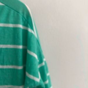 aerie Tops - Aerie Mint Striped Tunic Short Sleeve T-Shirt